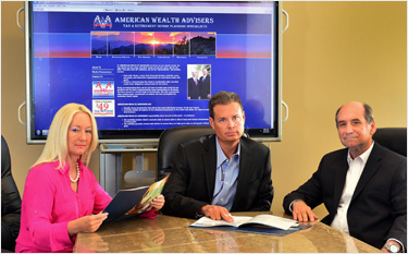 American Wealth Advisers Boardroom - Goodyear AZ