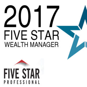 Five Star Wealth Manager Award- American Wealth Advisers - Goodyear